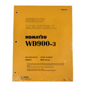 Komatsu Egypt  WD900-3 Series Wheel Dozer Service Shop Manual