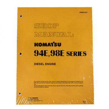 Komatsu Guinea  Service Diesel Engines 94E, 98E Shop Manual