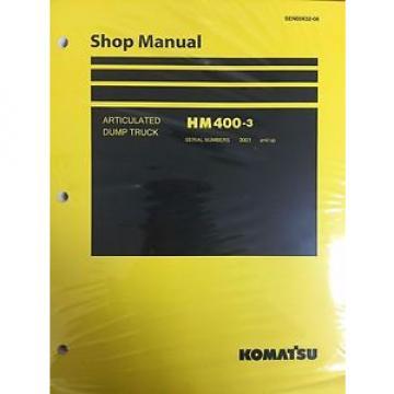 Komatsu SamoaWestern HM400-3 Shop Service Manual Articulated Dump Truck