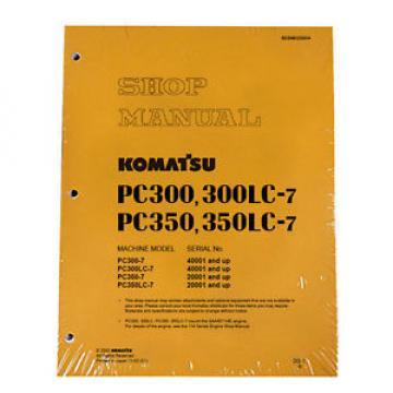 Komatsu Liechtenstein Service PC300-7/PC300LC-7/PC350-7/LC-7 Manual