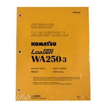 Komatsu Cuinea WA250-3 Wheel Loader Service Shop Manual #1
