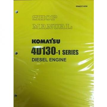 Komatsu Netheriands  4D130-1 Series Engine Factory Shop Service Repair Manual