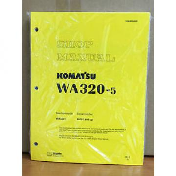 Komatsu Guinea  WA320-5 Wheel Loader Shop Service Repair Manual