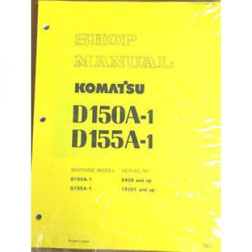 Komatsu Costa Rica  D150A-1, D155A-1 Crawler, Dozer, Bulldozer Shop Repair Service Manual