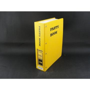 Komatsu Liberia  excavator parts book manual PC300LC-6 PC300HD-6 BEPB005200