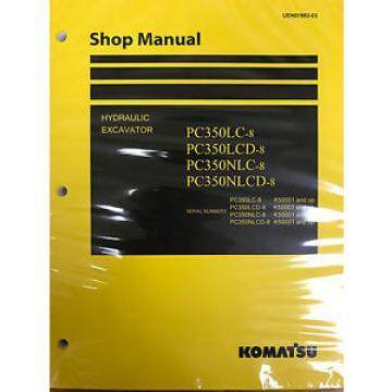 Komatsu Reunion PC300-8 PC300LC-8 PC350-8 PC350LC-8 Service Repair Printed Manual