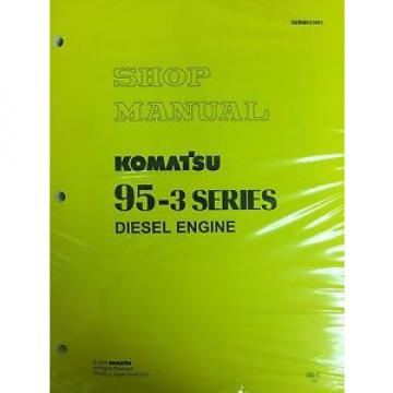 Komatsu Oman  95-3 Series Engine Factory Shop Service Repair Manual