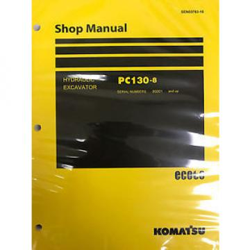 Komatsu Swaziland  PC600-8 PC600LC-8 Shop Service Repair Printed Manual