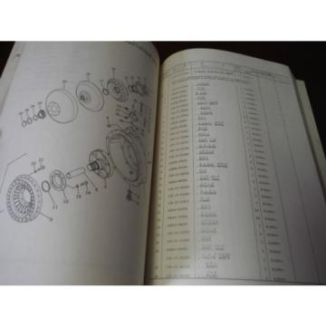 Komatsu Bulgaria  D57S-1  Parts Catalog Manual  ***Japanense** Japan
