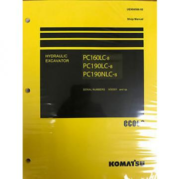 Komatsu Liechtenstein  PC160LC-8 PC190LC-8 PC190NLC-8 Service Repair Printed Manual
