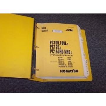 Komatsu Costa Rica  PC150HD-3 PC150NHD-3 Hydraulic Excavator Shop Service Repair Manual Book