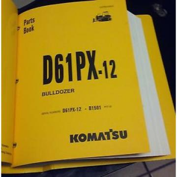 PARTS Iran  MANUAL FOR D61PX-12 SERIAL B1501 AND UP  KOMATSU BULLDOZER