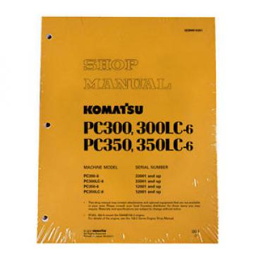 Komatsu United States of America  Service PC300-6/PC300LC-6/PC350-6/LC-6 Manual