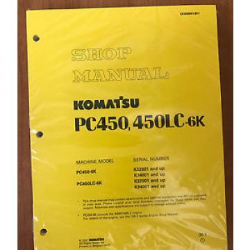 Komatsu Gambia PC450-6K, PC450LC-6K Service Repair Printed Manual
