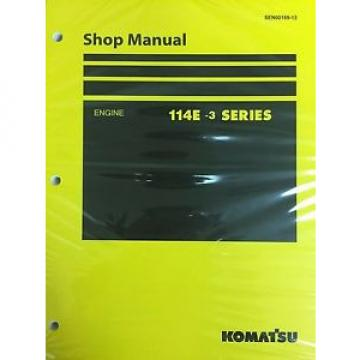 Komatsu Bulgaria  114E-3 Series Engine Factory Shop Service Repair Manual