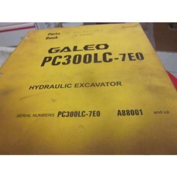 Komatsu Haiti  PC300LC-7EO Hydraulic Excavator Parts Book Manual