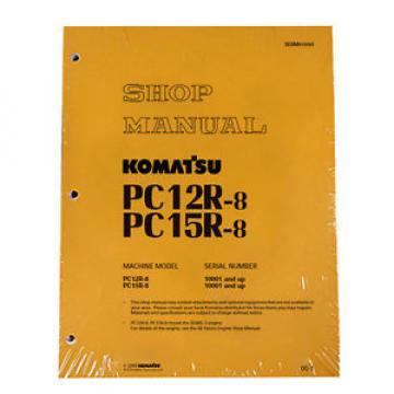 Komatsu Liechtenstein Service PC12R-8, PC15R-8 Shop Manual NEW