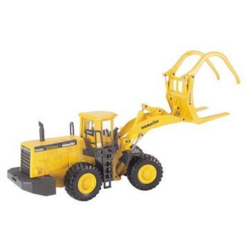 Joal Moldova,Republicof 204 - Komatsu WA600-3 Four Wheel Log Loader Diecast New - Scale 1:50