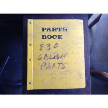 OEM Hongkong KOMATSU 830B 830C GALION Motor Grader PARTS Book Catalog Manual GUC