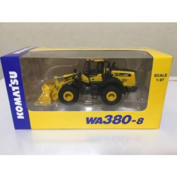 NEW Samoa Eastern  1/87 Komatsu Official WA380-8 Wheel Loader diecast model rare item Japan F/S