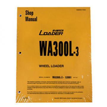 Komatsu Liechtenstein WA300L-3 Wheel Loader Service Repair Manual