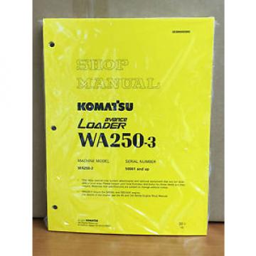 Komatsu Malta  WA250-3 Wheel Loader Service Shop Manual #1