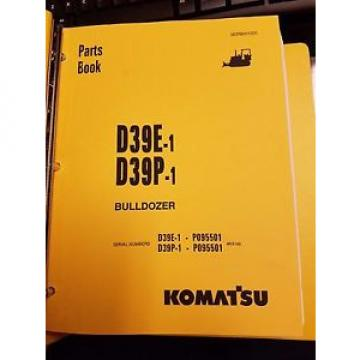 PARTS Liberia  MANUAL FOR D39P-1 SERIAL P095501 AND UP KOMATSU BULLDOZER