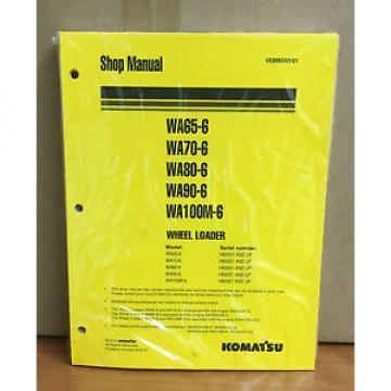 Komatsu Laos WA65-6,WA70-6,WA80-6,WA100M-6 Wheel Loader Shop Service Repair Manual