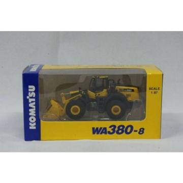 NEW Bahamas  Komatsu Official WA380-8 1/87 Wheel Loader diecast model F/S