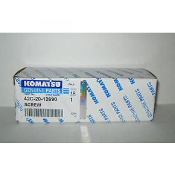 42C-20-12690 Fiji Komatsu Screw for Models HD785-7, WA1200-3, WA800L-3, WA900L-3