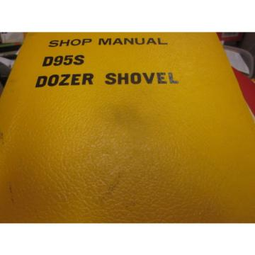 Komatsu Swaziland  D95S Dozer Shovel Repair Shop Manual