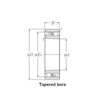 NN3076K NTN Cylindrical Roller Bearings