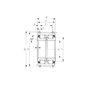 NAS 5026UUNR IKO Cylindrical Roller Bearings #1 small image