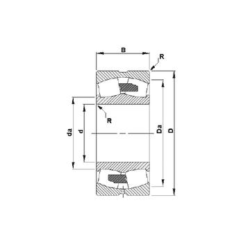 23234YM Timken Spherical Roller Bearings #1 small image