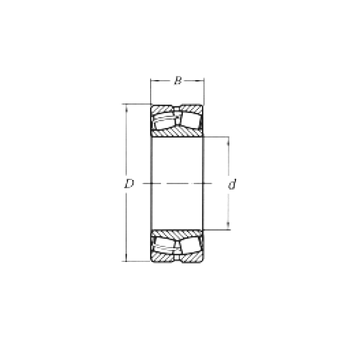22207MW33 CRAFT Spherical Roller Bearings #1 small image