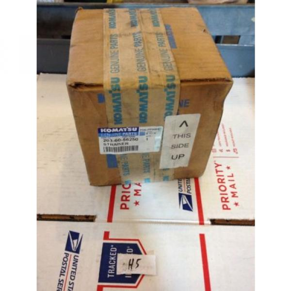 New Russia OEM Komatsu Genuine Parts Oil Filter Strainer 203-60-56250 Fast Shipping! #1 image