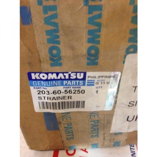 New Russia OEM Komatsu Genuine Parts Oil Filter Strainer 203-60-56250 Fast Shipping! #2 image