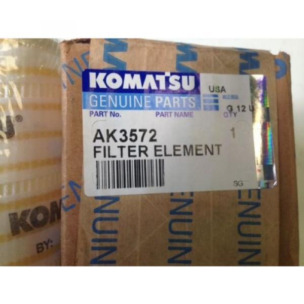 Komatsu Brazil  AK3572 Hydraulic Oil Filter #4 image