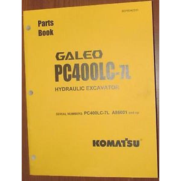PARTS Niger  MANUAL FOR PC400LC-7L SERIAL A86000 AND UP KOMATSU CRAWLER EXCAVATOR #1 image