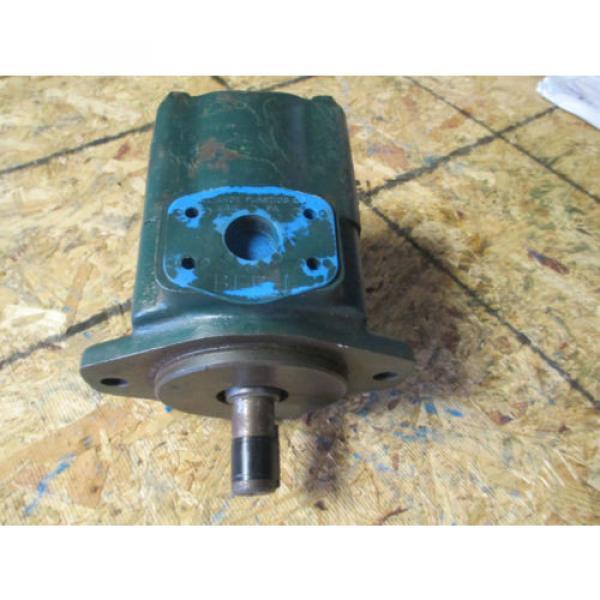 VICKERS Cuba 4525V60A21 1 AA  22 L  HYDRAULIC VANE DOUBLE PUMP REBUILT   60 amp; 21 GPM #2 image