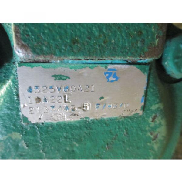 VICKERS Cuba 4525V60A21 1 AA  22 L  HYDRAULIC VANE DOUBLE PUMP REBUILT   60 amp; 21 GPM #3 image