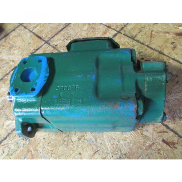 VICKERS Cuba 4525V60A21 1 AA  22 L  HYDRAULIC VANE DOUBLE PUMP REBUILT   60 amp; 21 GPM #4 image