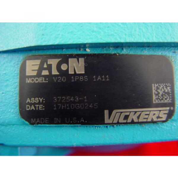 Eaton Denmark Vickers V201P8S1A11 Fixed Displacement Hydraulic Power Steering Vane Pump #3 image