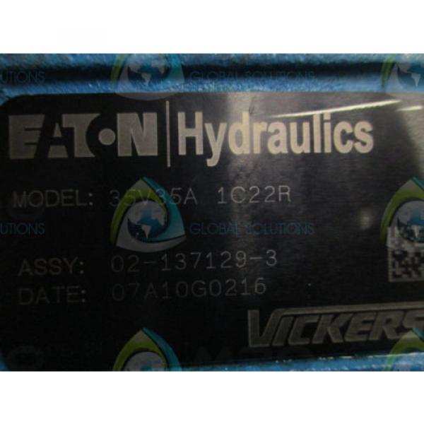 EATON Hongkong VICKERS 35V35A 1C22R HYDRAULIC PUMP Origin NO BOX #5 image
