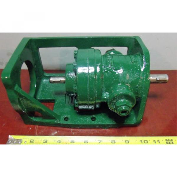 Vickers Netheriands Hydraulic Pump with Bracket V 2113 G 10 LH #1 image
