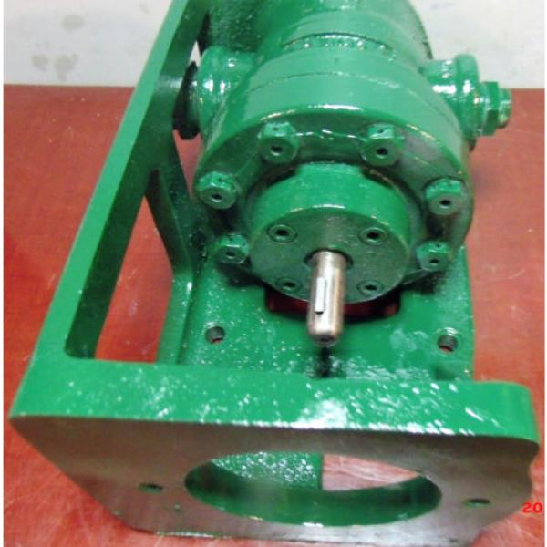 Vickers Netheriands Hydraulic Pump with Bracket V 2113 G 10 LH #4 image