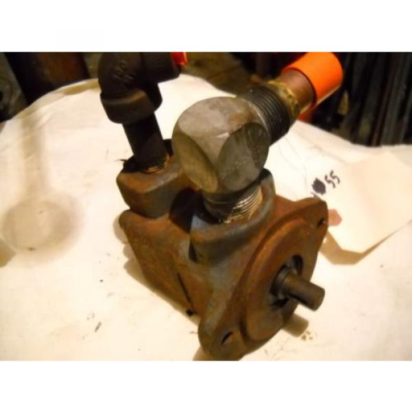 VICKERS Luxembourg  V10 VANE HYDRAULIC PUMP V10 1P 3P3C20 J40 JM #6 image