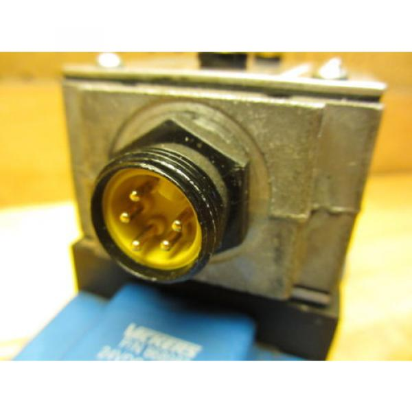 Vickers Netheriands PA5DG4 S4LW 012N H 61, Hydraulic Directional Pilot Valve Coils 24VDC #5 image