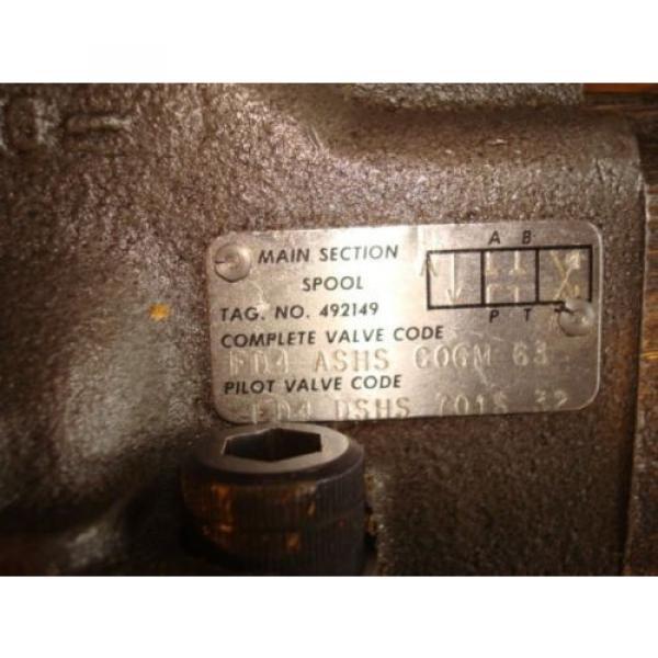 VICKERS Liechtenstein HYDRAULIC PUMP CONTROL VALVE FD4 ASHS CO6M 63 AE39 #4 image