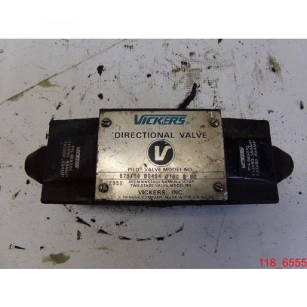 USED Luxembourg DG4S4-016C-B-60 Vickers Replacement Hydraulic Valve #879159 #1 image